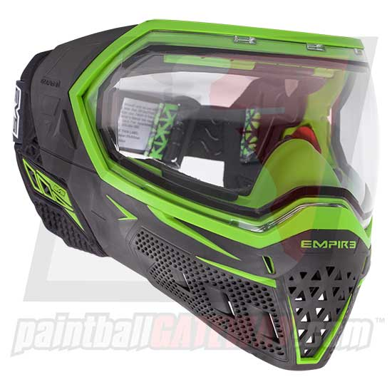 Empire EVS Paintball Goggle System - Black/Green - airsoftgateway.com