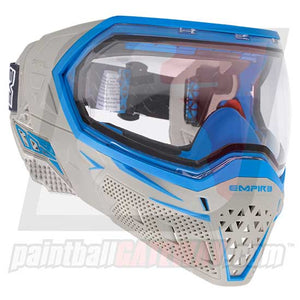 Empire EVS Paintball Goggle System - Grey/Cyan - airsoftgateway.com