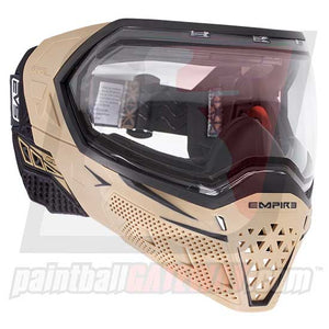 Empire EVS Paintball Goggle System - Tan/Black - airsoftgateway.com