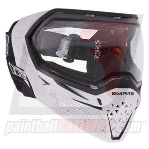 Empire EVS Paintball Goggle System - White/Black - airsoftgateway.com