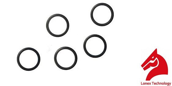 Lonex Piston Head O-Ring Set - 5 Pack - airsoftgateway.com