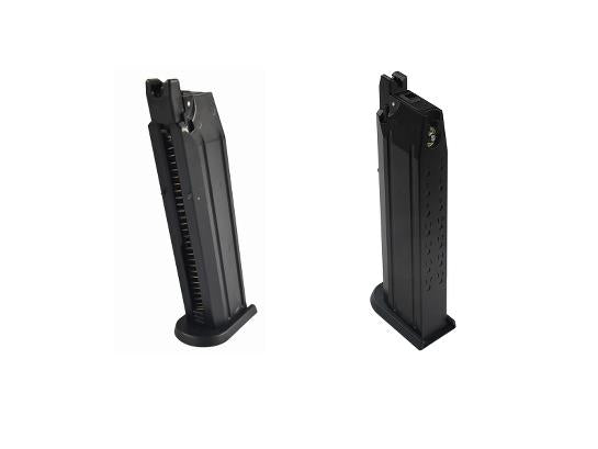 ICS BLE-Alpha /XAE Gas Blowback Airsoft Pistol 25 Round Magazine - airsoftgateway.com