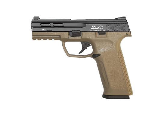 ICS XAE Gas Blowback Pistol - Black/Tan - airsoftgateway.com