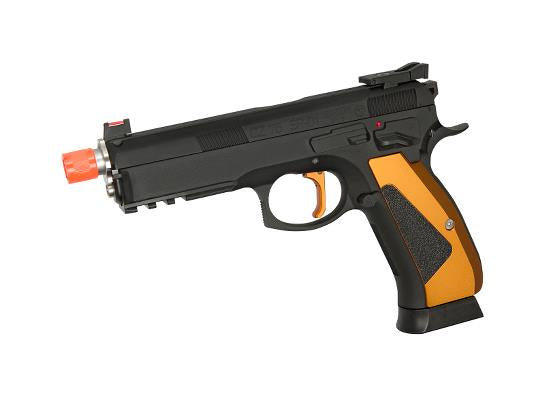 ASG CZ75 SP-01 Shadow ACCU Special Edition Gas Blowback Airsoft Pistol - airsoftgateway.com