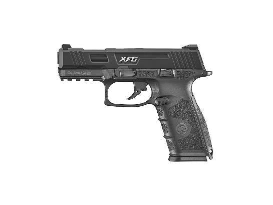 ICS XFG Gas Blowback Pistol - Black - airsoftgateway.com