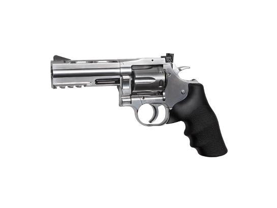 ASG Dan Wesson 715 - 4inches Pellet Airgun - Silver - airsoftgateway.com