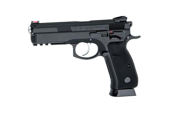 ASG CZ75 SP-01 Shadow Gas Blowback Airsoft Pistol - Black - airsoftgateway.com