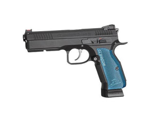 ASG CZ Shadow 2 Gas Blowback Airsoft Pistol by ASG- Black/Blue - airsoftgateway.com