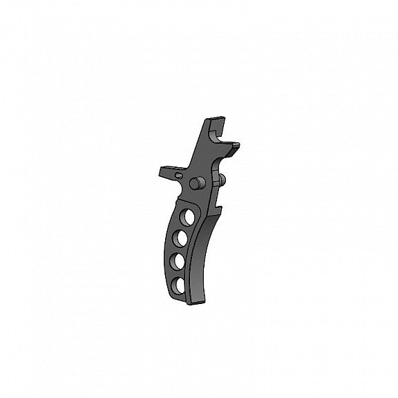 Retro Arms CNC M4 Triggers - Type D - Silver