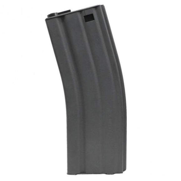 G&G Metal 450rd Hi-Cap Magazine for M4/M16 Series Airsoft AEG Rifles - Grey - airsoftgateway.com