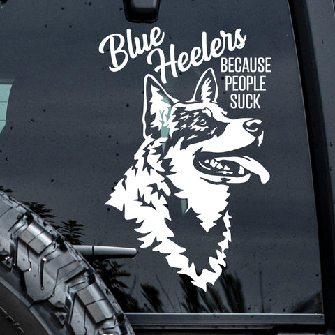 Blue Heeler Sticker