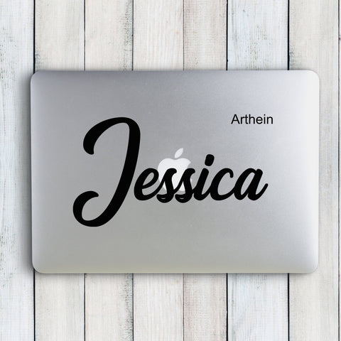 The Jessica Custom Name Sticker