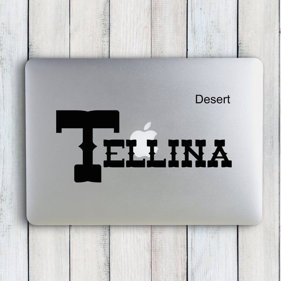The Tellina Custom Name Sticker