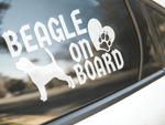 Beagle On Board Sticker