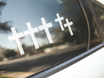 Religious Cross Stickers