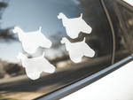 American Cocker Spaniel Dog Silhouette Stickers
