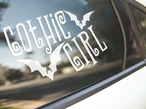 Gothic Girl Sticker