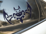 Tribal Bat Sticker