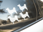 Swedish Vallhund Dog Silhouette Sticker