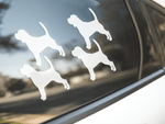 Beagle Dog Silhouette Sticker