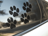 Cat Paw Print Stickers