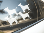 Bull Terrier Dog Silhouette Sticker
