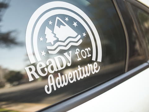 Ready For Adventure Sticker