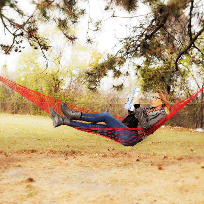 Relaxation Pocket Hammock - Assorted Colors