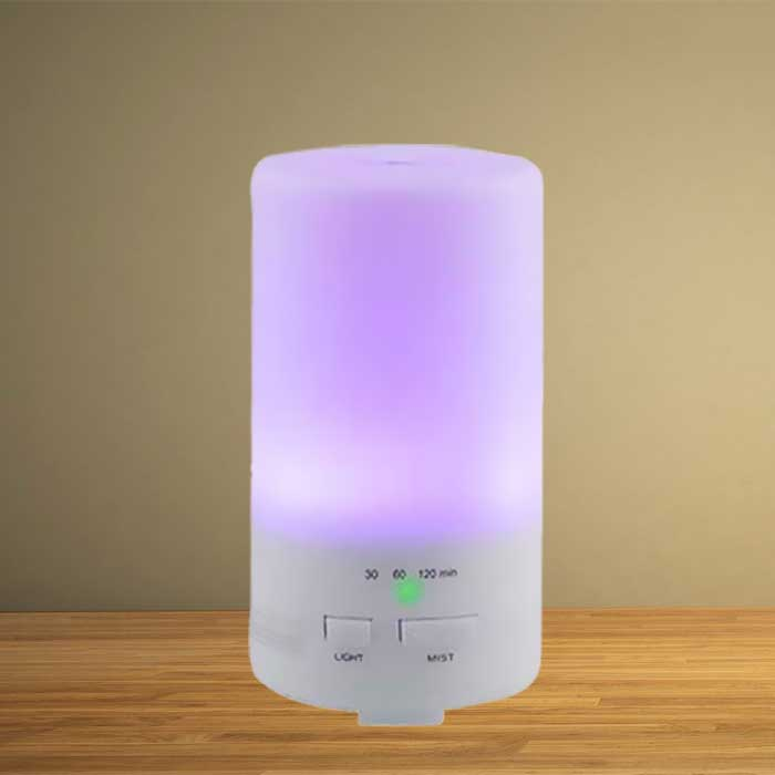 Portable Oil Diffuser and Humidifier with Color-Changing LEDs
