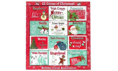 12-Pack: Assorted Cocoas of Christmas Holidays