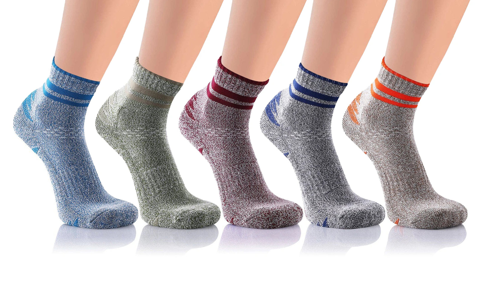 5-Pairs : Unisex Ultra-Support Compression Socks