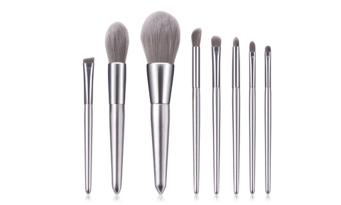 Chromatic Makeup Brushes (8-Pieces)
