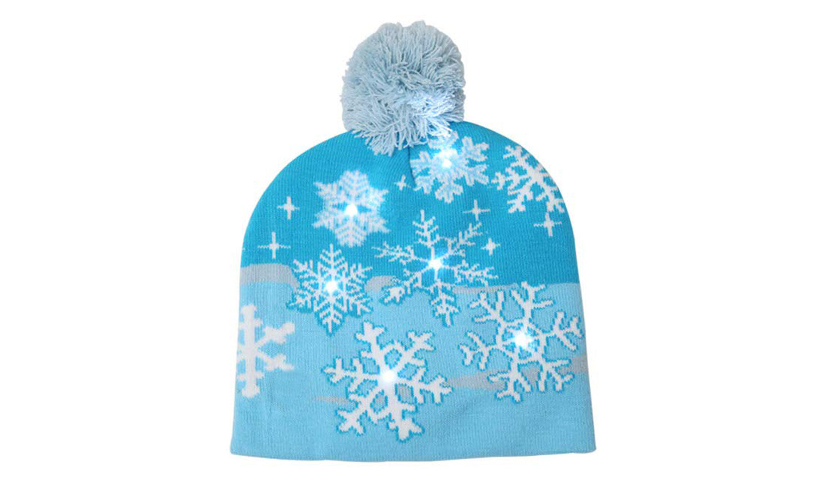 Holiday Fun LED Beanie