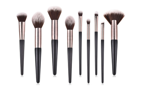 Flawless Finish Makeup Brushes (9-PIECE)