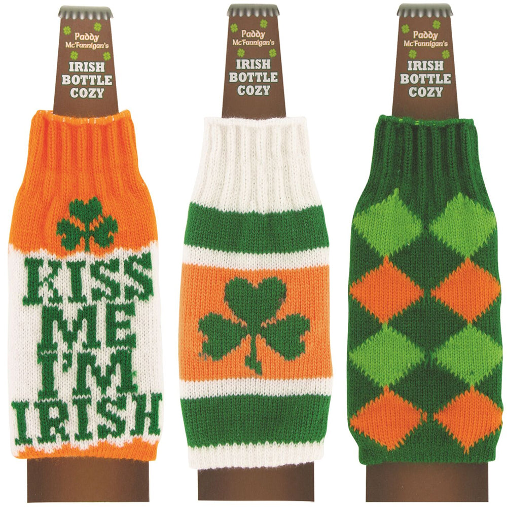 Paddy Mc'Funnigan's Irish Bottle Cozy