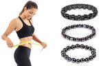 Natural Magnetic Hematite Stretch Bracelets For Men and Women