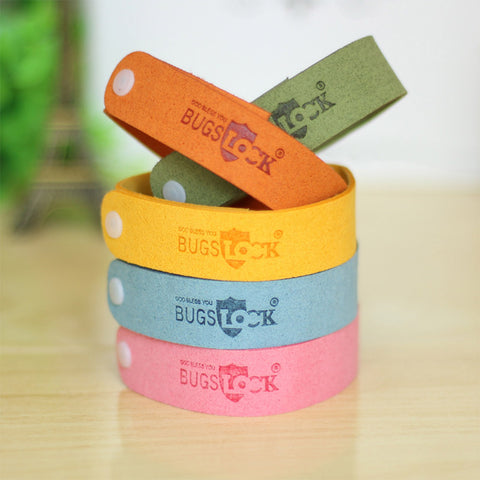 5-Piece Set: Mosquito Repellent Bracelets