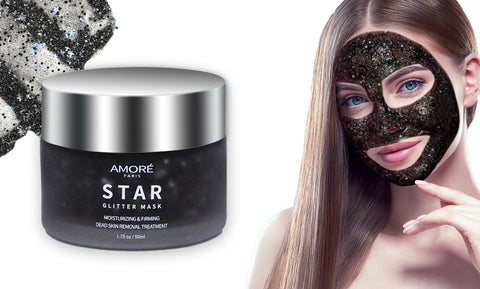 Deep Cleansing Black Gold Glitter Purifying Peel-Off Facial Masks