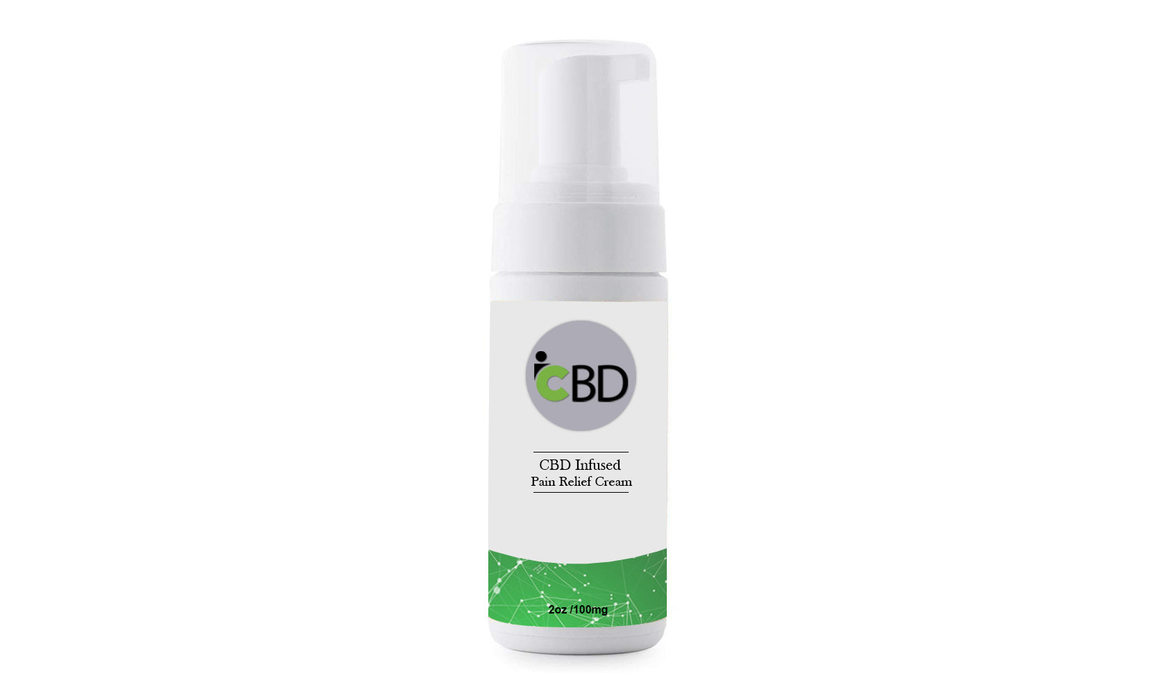 CBD Pain Relief Cream 100mg from iCBD