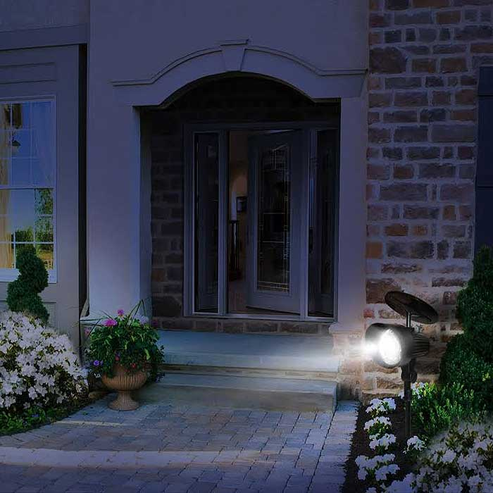 12 LED Outdoor Motion Sensor Solar Light
