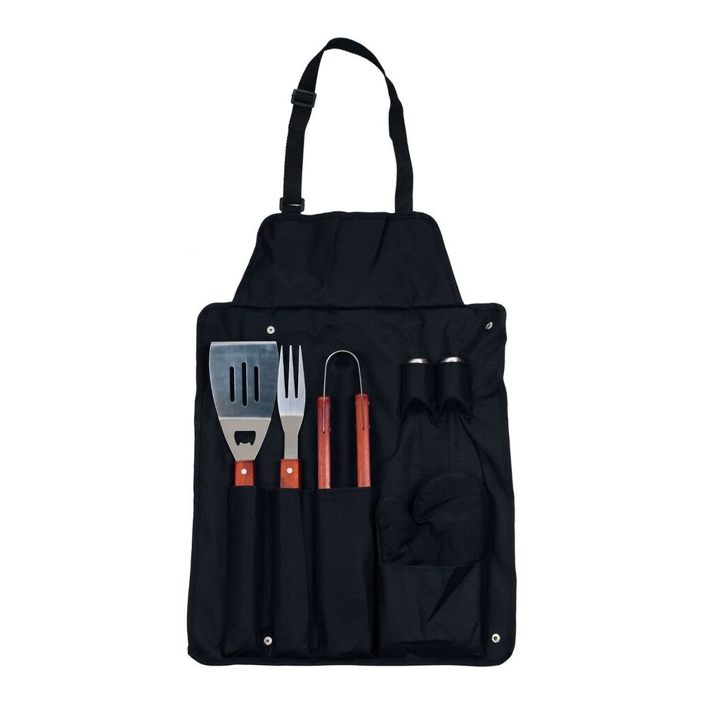7-Piece Grilling Apron and Utensil Set