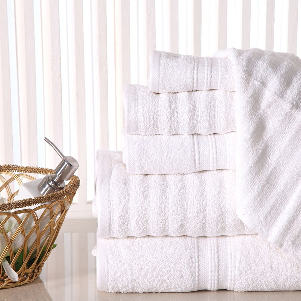 6-Piece Virah Bella Egyptian Towel Set
