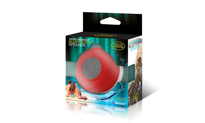 Aqua Sound Water Resistant Bluetooth Speaker