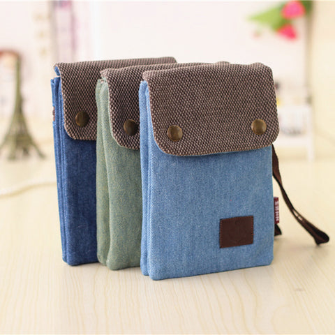Canvas Cross-Body Smartphone Bag