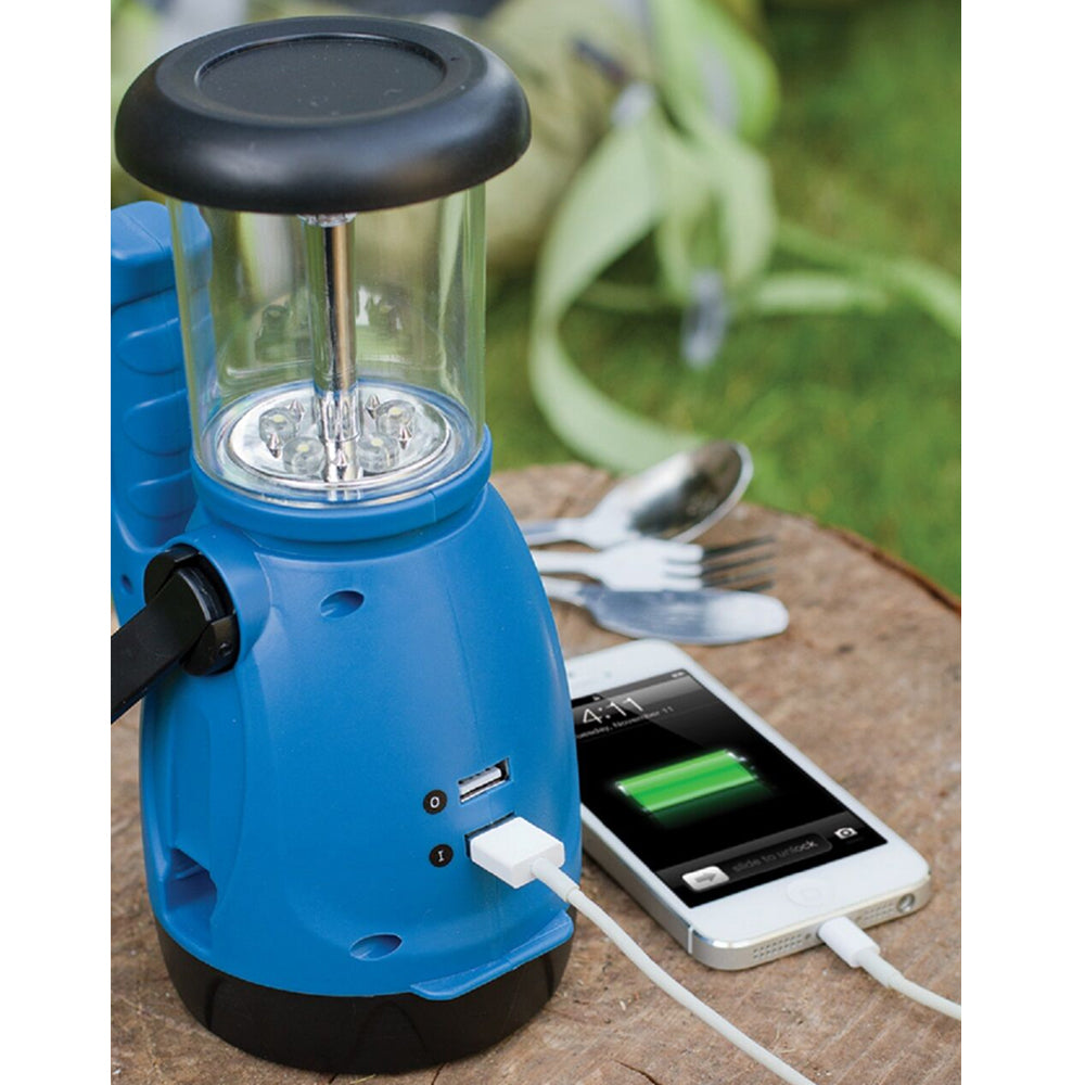 Dynamo Lantern with 1500 mAh Power Bank