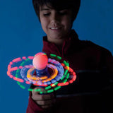 Galaxy Spinner with Flashing Lights