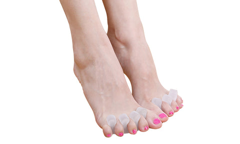 Medical Grade Gel Toe Separators and Spreaders