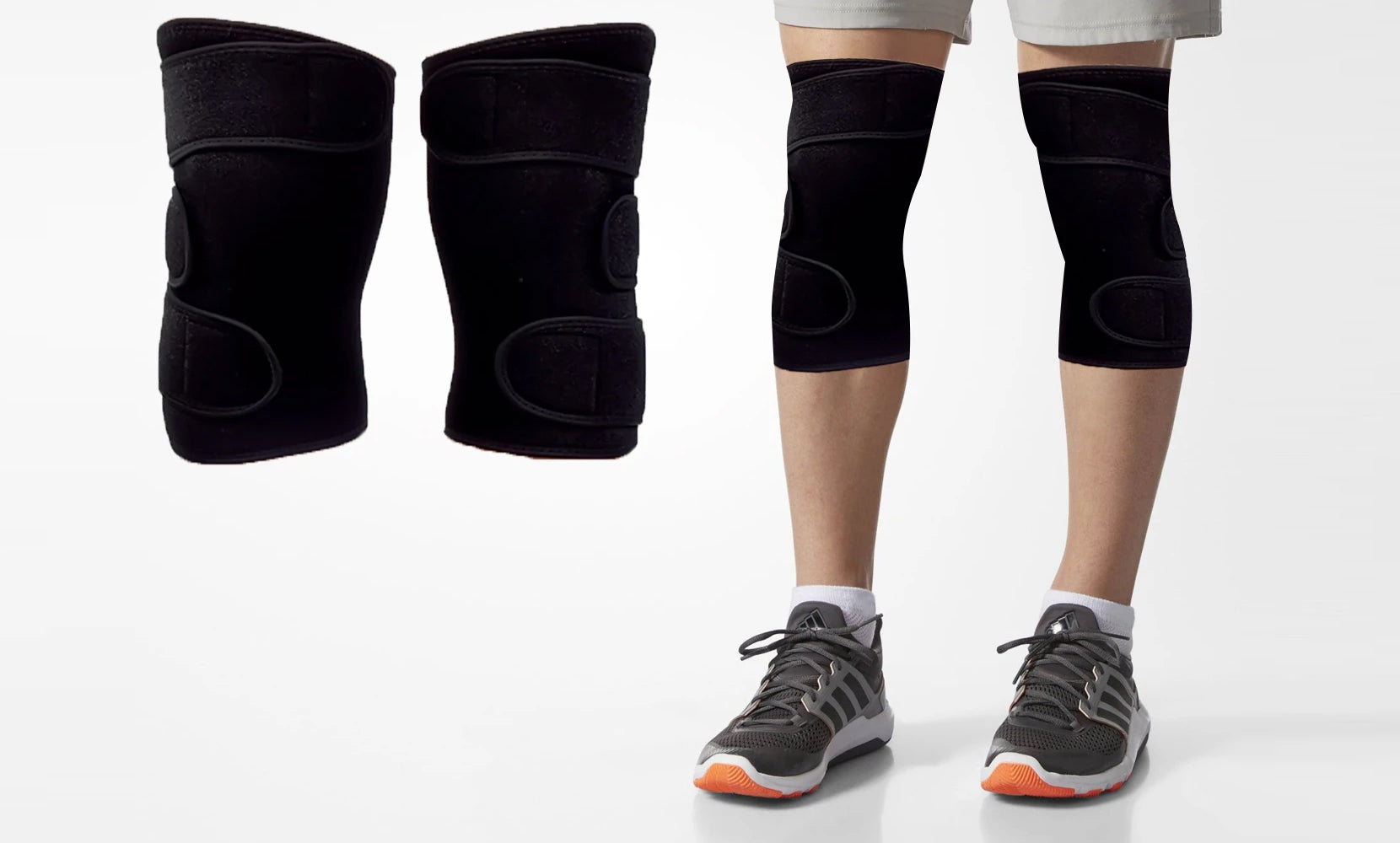 Adjustable Pain Relief Copper Infused Knee Brace