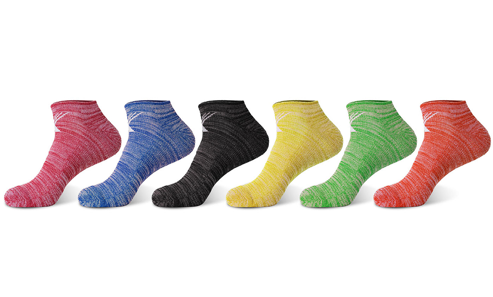 6-Pairs: Dri-Fit Performance Cushion Socks