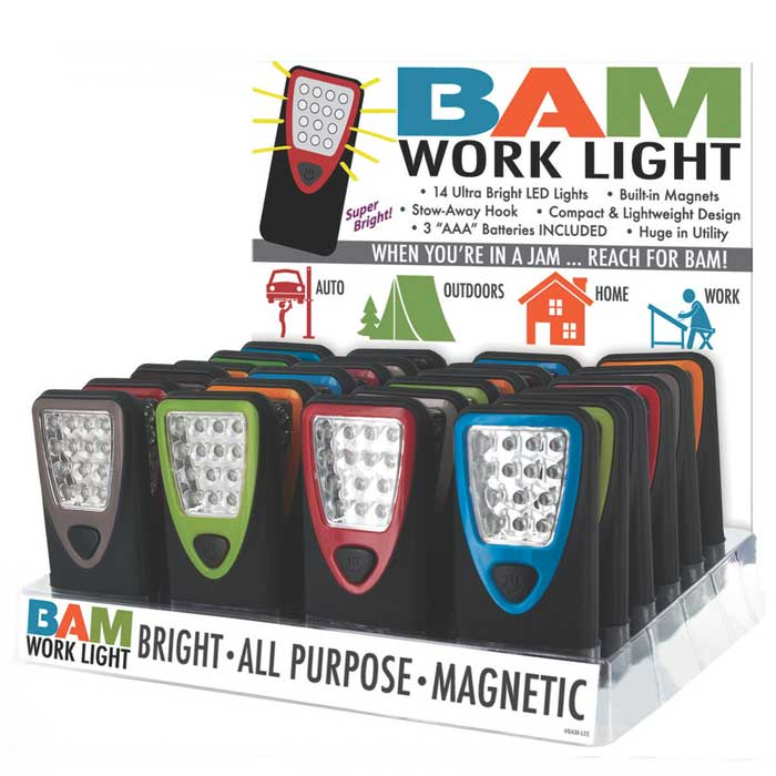 2-Pack: BAM (Bright All-Purpose Magnetic) Work Light